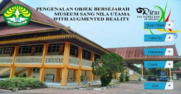 Aplikasi Augmented Reality Pengenalan Benda Bersejarah Museum Sang Nila Utama Kota Pekanbaru